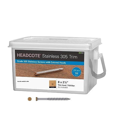 Amazon.com: headcote # 8 x 2 – 1/2