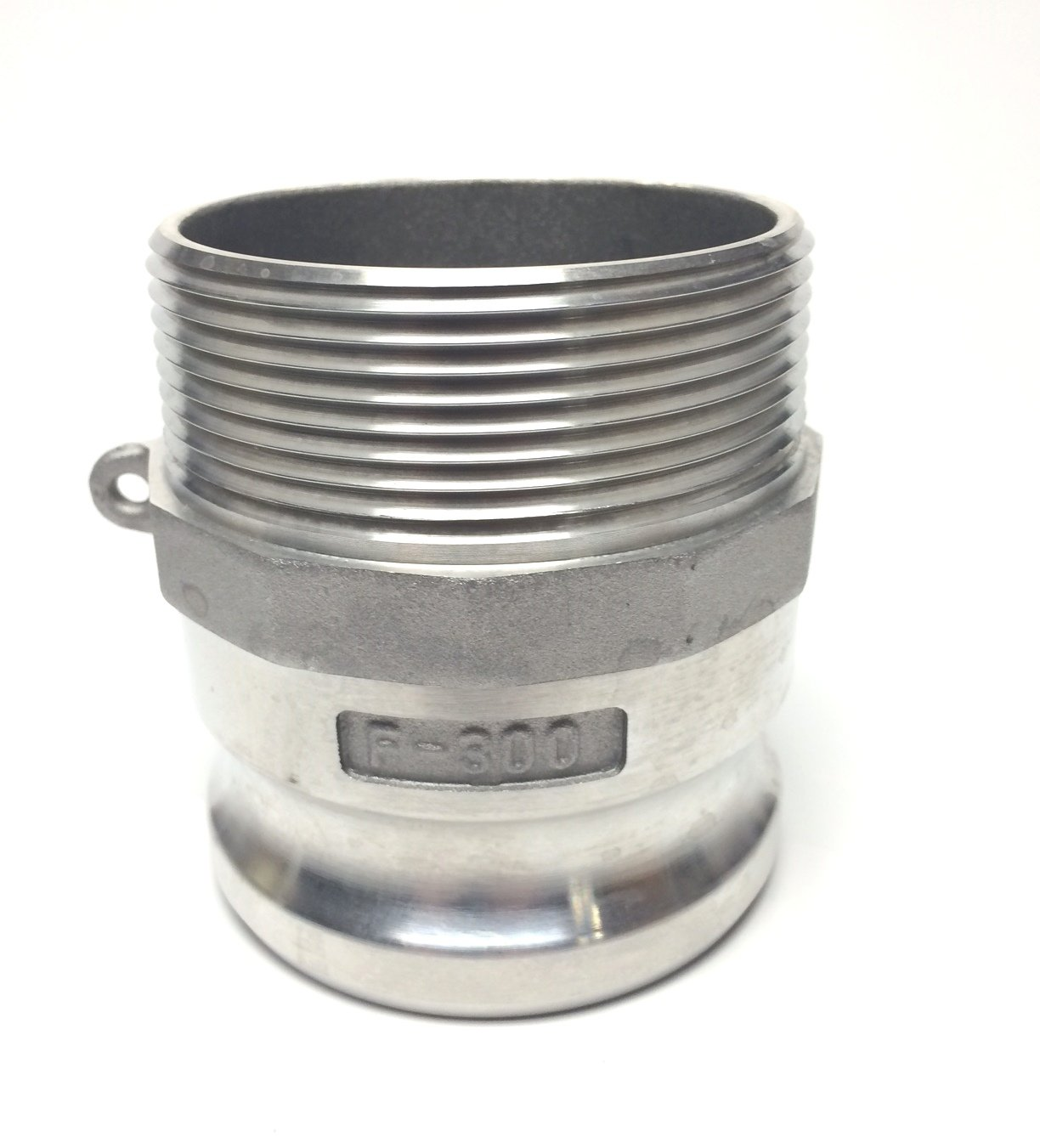 2.5 Plug NPT 2.5 Plug x 2.5 Male Pipe NPT Adapter x 2.5 Male Pipe PT Coupling CF250F ALUM CF250F Aluminum Contractor Type F Cam and Groove Fitting Adapter CF1000625