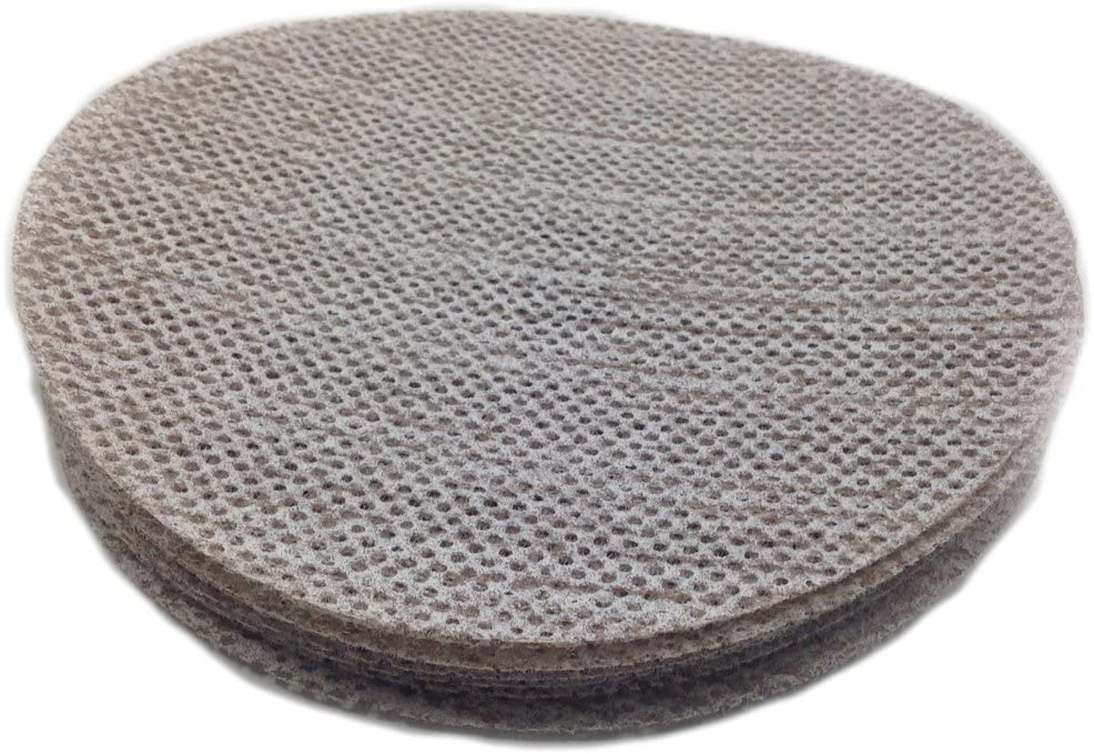 "Sungold Abrasives 91-505-004 Fine Grit Assortment-5 Each of 320, 400, 600 & 800 Trinet Hook & Loop Mesh Sanding Discs, 5"""