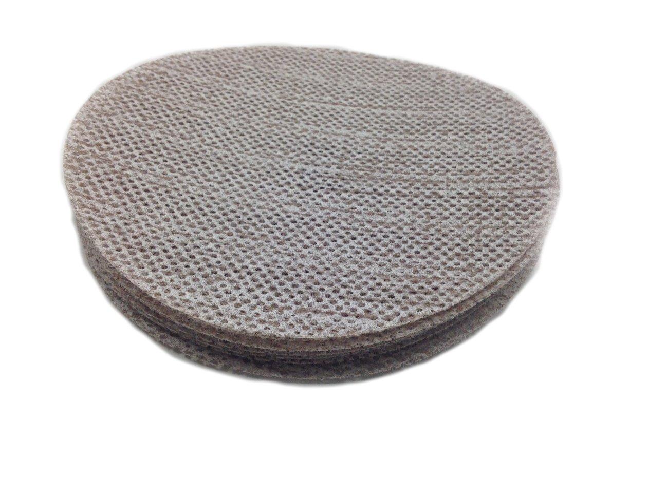 Sungold Abrasives 91-875-060 Trinet Mesh 60 Grit Hook & Loop Stearated Aluminum Oxide Sanding Discs for Drywall Sanders, 10 Pack, 9''