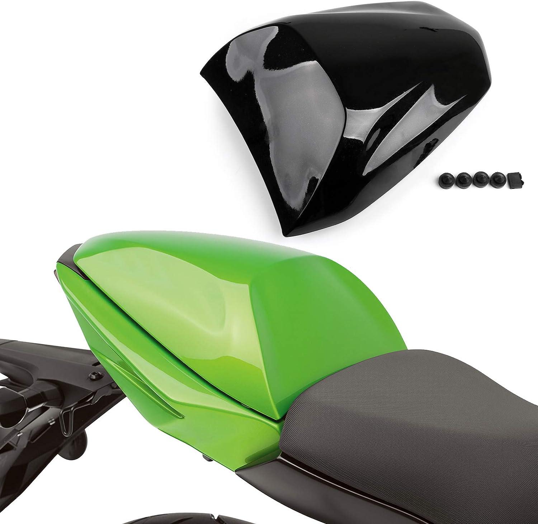 /2006/Nero Fast Pro della Sella in Pelle Confortevole Pad Cusion Posteriore Sedile passeggero sellino per Kawasaki ZX6R ZX636/2005/