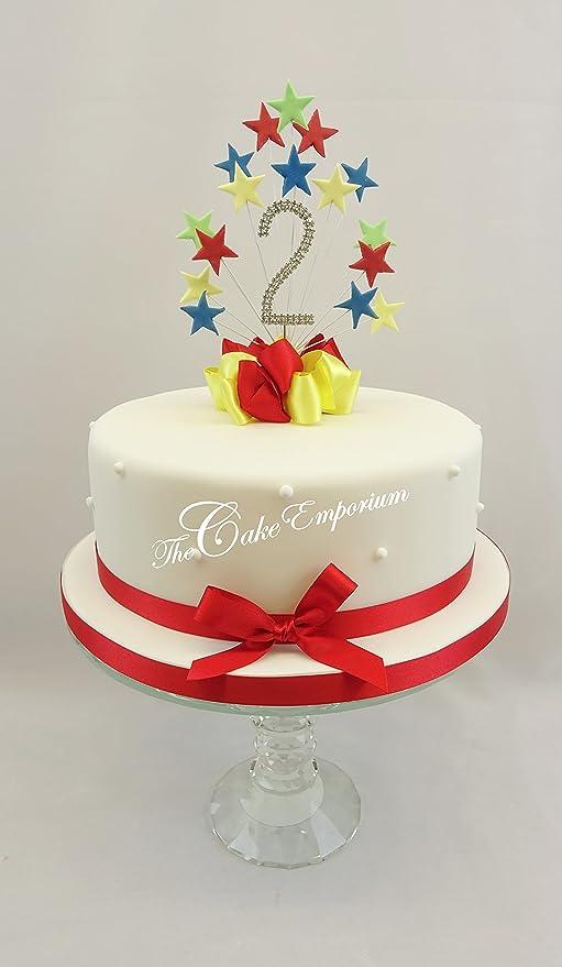 The Cake Emporium Ltd Mr Secadora Star Burst Diamante de ...