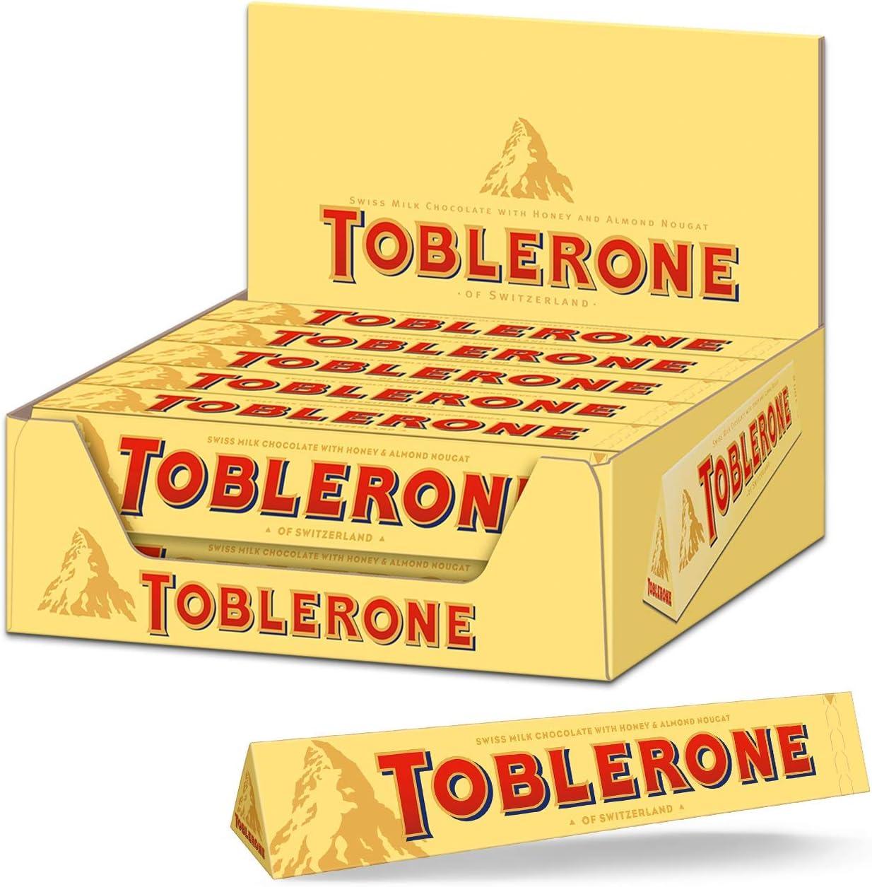 Toblerone Milk Chocolate 100 g (Pack of 20): Amazon.es: Electrónica