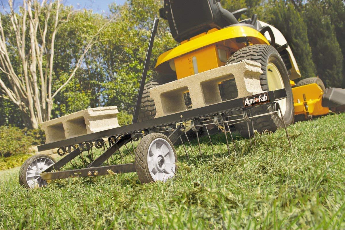 Agri-Fab 45-0295 48-Inch Tine Tow Dethatcher (Renewed) by Agri-Fab