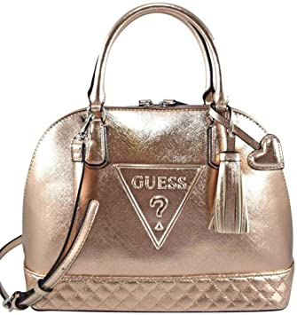 9e19c3cd1a84 Amazon.com  Guess Women s Baldwinpark Small Dome Satchel Tote Bag Handbag   Fashion-USA