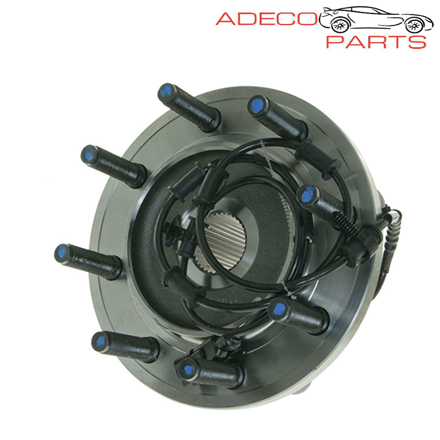 AdecoAutoParts/© Two 515122 Front Wheel Bearing and Hub Assembly for 2009 2010 2011 Dodge Ram 2500 3500 4WD 8 Lug BR930546 1411-424852 WH515122