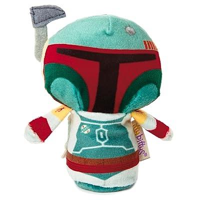 Hallmark itty bittys Star Wars Boba Fett Stuffed Animal: Toys & Games