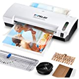 Laminator Machine, TOPELEK 5-in-1 A4 Thermal Laminator Machine with 30 Laminating Pouches, Paper Trimmer, Corner Rounder, Pho