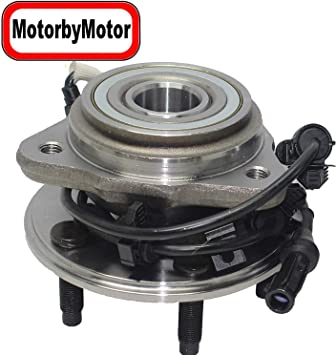 Amazon Com Motorbymotor 4wd Front Wheel Hub Bearing Assembly Replacement For Ford Explorer Ford Ranger Mazda B3000 Mazda B4000 Mercury Mountaineer Hub Bearing W 5 Lugs W Abs Automotive