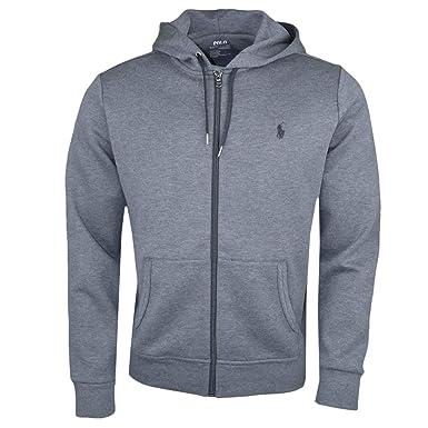 Ralph Lauren Veste zippée Grise pour Homme  Amazon.fr  Vêtements et  accessoires b5ef6b6227d3