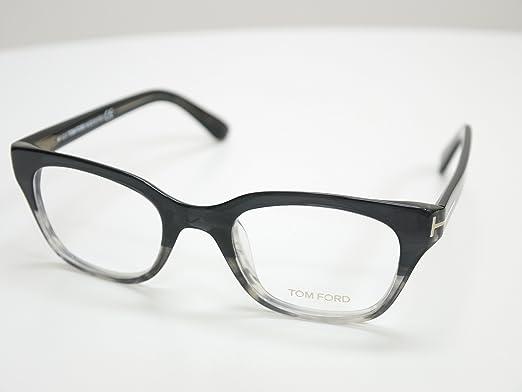 Tom Ford Rx Eyeglasses - TF4240 / Frame: Black and Grey Lens: Demo ...