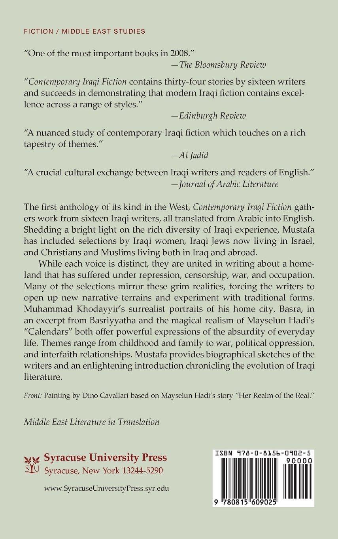 Contemporary iraqi fiction an anthology middle east literature in contemporary iraqi fiction an anthology middle east literature in translation shakir mustafa 9780815609025 amazon books fandeluxe Images