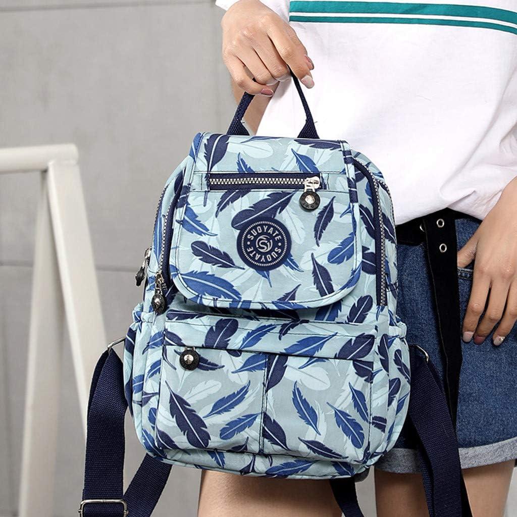 Backpack for Women School Waterproof Large Capacity Backpack Shoulder Travel Bags