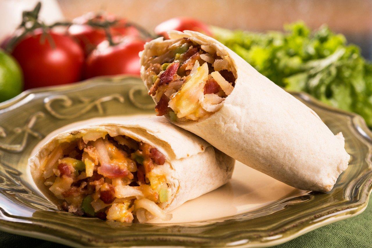 Tres Picosos Potato/Bacon/Egg/Green Chile Burrito, (12 count)
