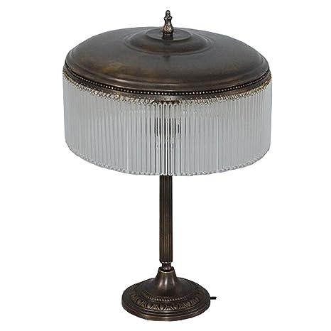 Lámpara de pie mesa art deco lámpara de escritorio cristal ...
