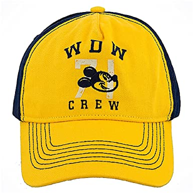 aea2b7b33de Image Unavailable. Image not available for. Color  Disney Parks Walt World  Crew Mickey Baseball Cap ...