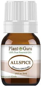Allspice Essential Oil 5 ml 100% Pure Undiluted Therapeutic Grade.