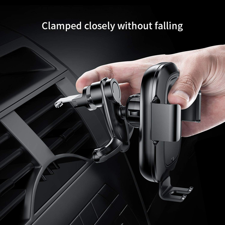 Amazon.com: Qi - Cargador inalámbrico de coche para iPhone ...