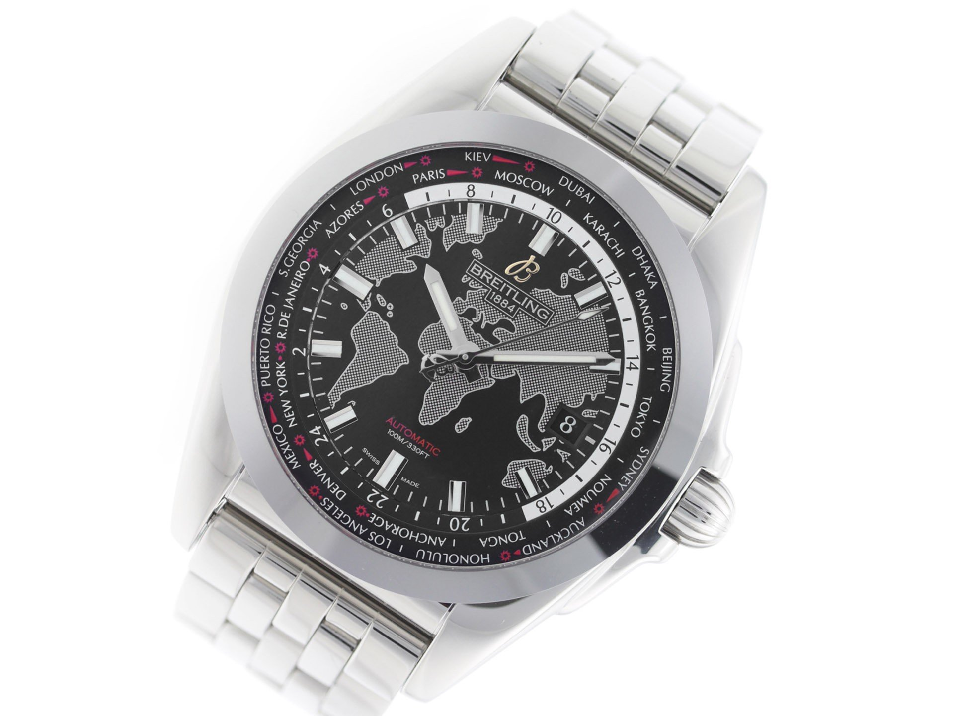 Breitling Galactic swiss-automatic mens Watch WB3510 (Certified Pre-owned) by Breitling (Image #1)