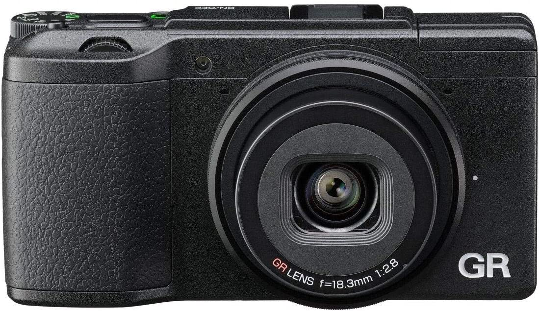 """Câmera compacta Ricoh GR II, sensor CMOS APS-C de 16 megapixels, lente GR 28mm F / 2,8, filmes em Full HD, LCD de 3 """", Wi-Fi / NFC, preto"""