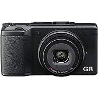 RICOH 理光 GR II紧凑相机-黑色(16mp,18.3毫米广角镜头,F2.8,WiFi)3英寸液晶屏