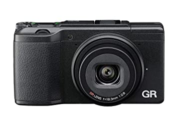Ricoh GR II Compact System Camera, Black (16MP, 18 3 mm Wide Lens, F2 8,  WiFi) 3-Inch LCD