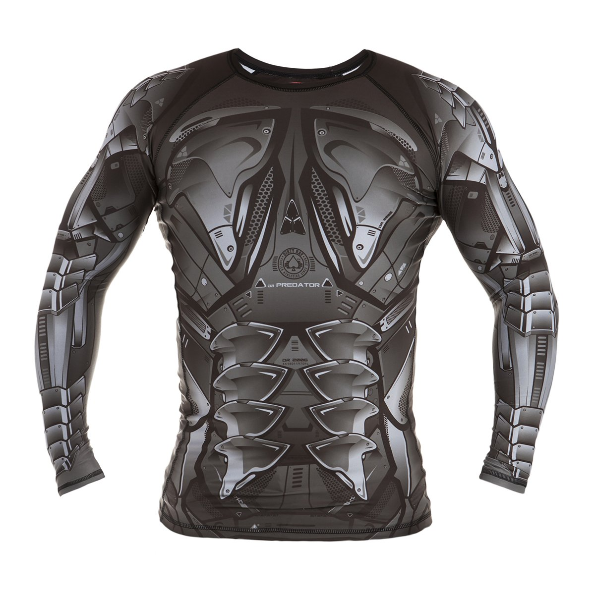 Image of Dirty Ray Long Sleeve Rash Guard METAL PREDATOR
