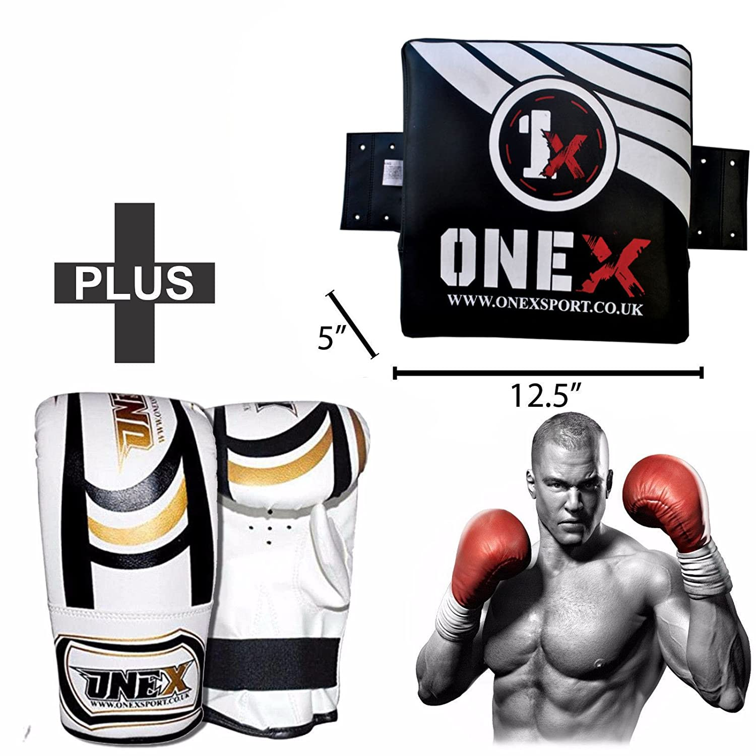 Adult Focus Pads Hook/&Jab Mitts Muay Thai Martial Arts Kick Boxing Sparring Pads