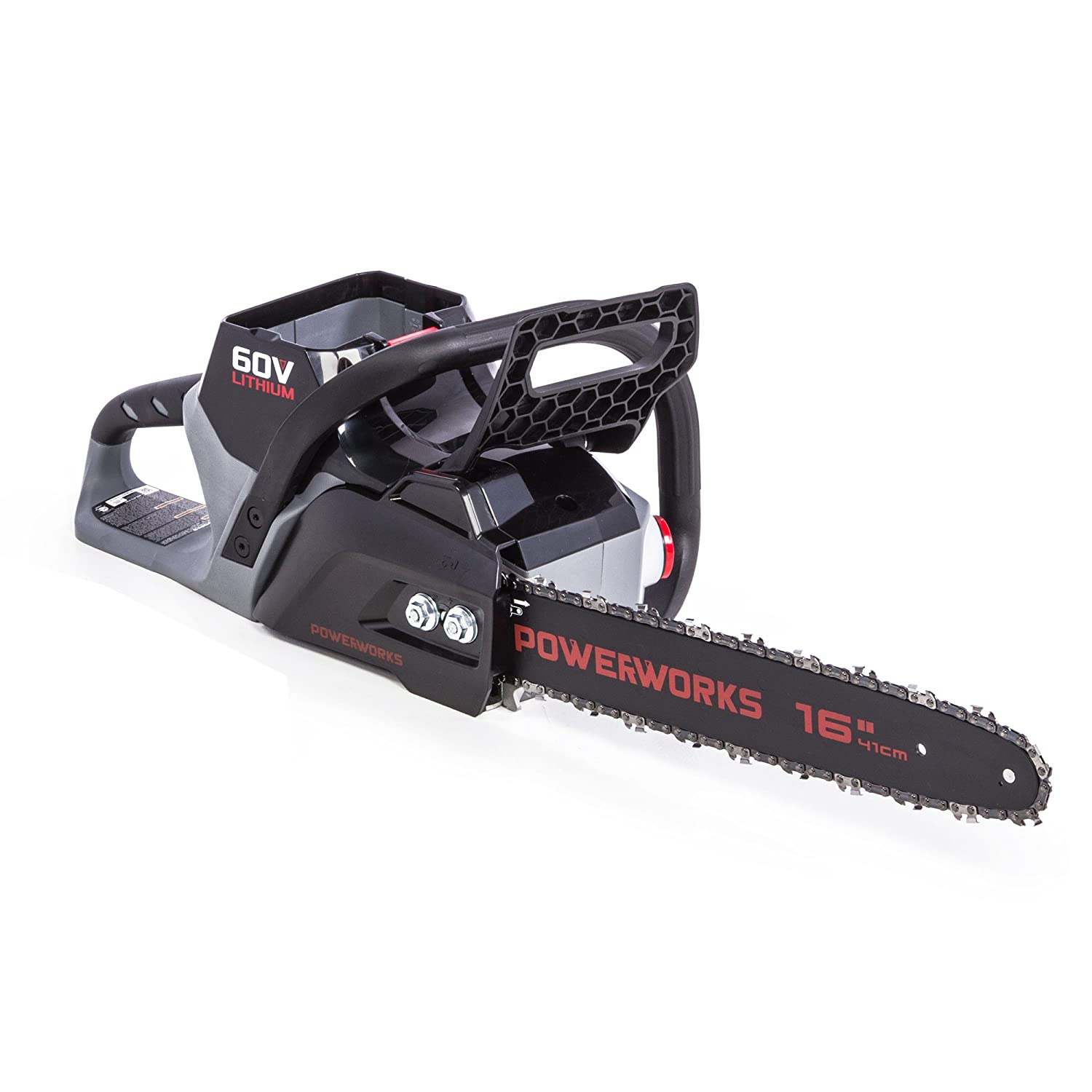POWERWORKS 60V Brushless 16-inch Chainsaw, Battery Not Included CS60L00PW