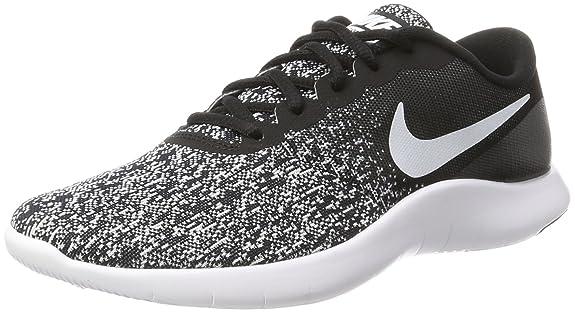 Amazon.com | Nike Mens Flex Contact Black/White Running Shoe 10.5 Men US | Road Running
