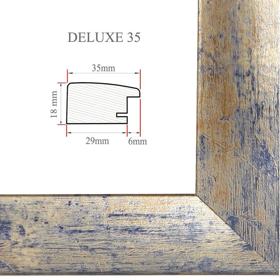 DELUXE35 Bilderrahmen 63x26 cm oder 26x63 cm Foto//Galerie//Posterrahmen