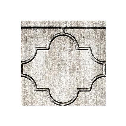 Amazon Com Fasade Easy Installation Monaco Crosshatch Silver