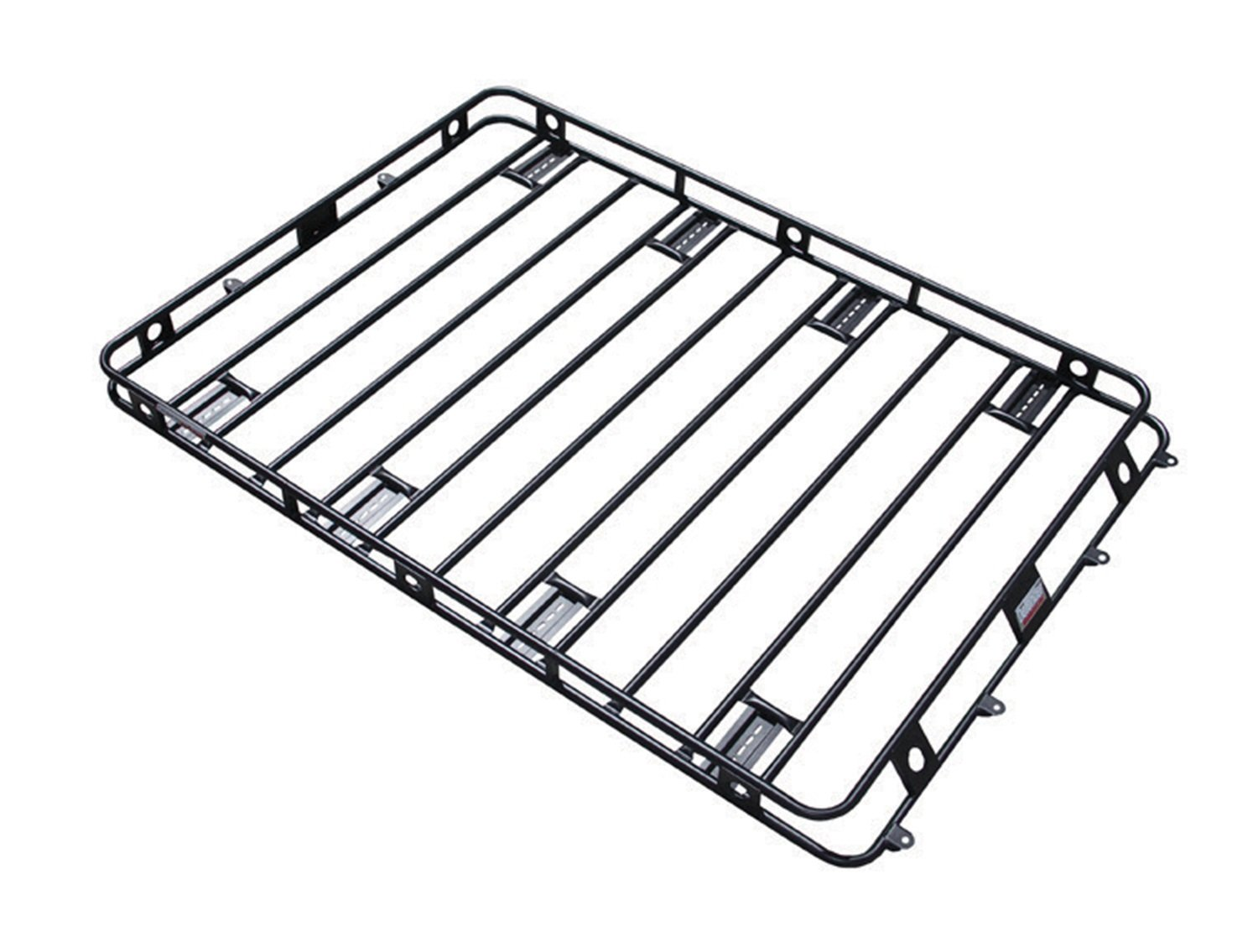 Smittybilt 50955AM Defender Roof Rack 5 ft. x 9.5 ft. x 4 in. Bolt Together Incl. AM Clamps/Brackets Defender Roof Rack