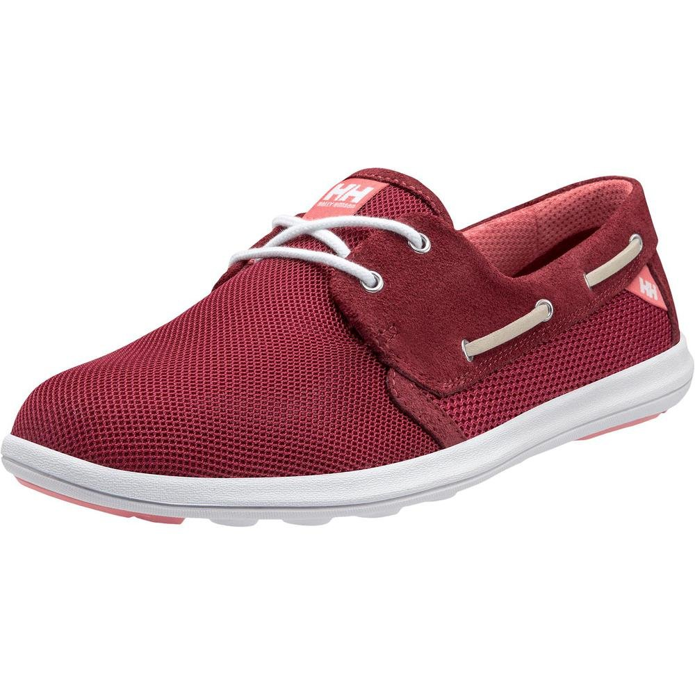 Helly Hansen Women's W Lillesand Fashion Sneaker B073RPQ5JC EU 39.3/US 8|Persian Red / Plum / Shel