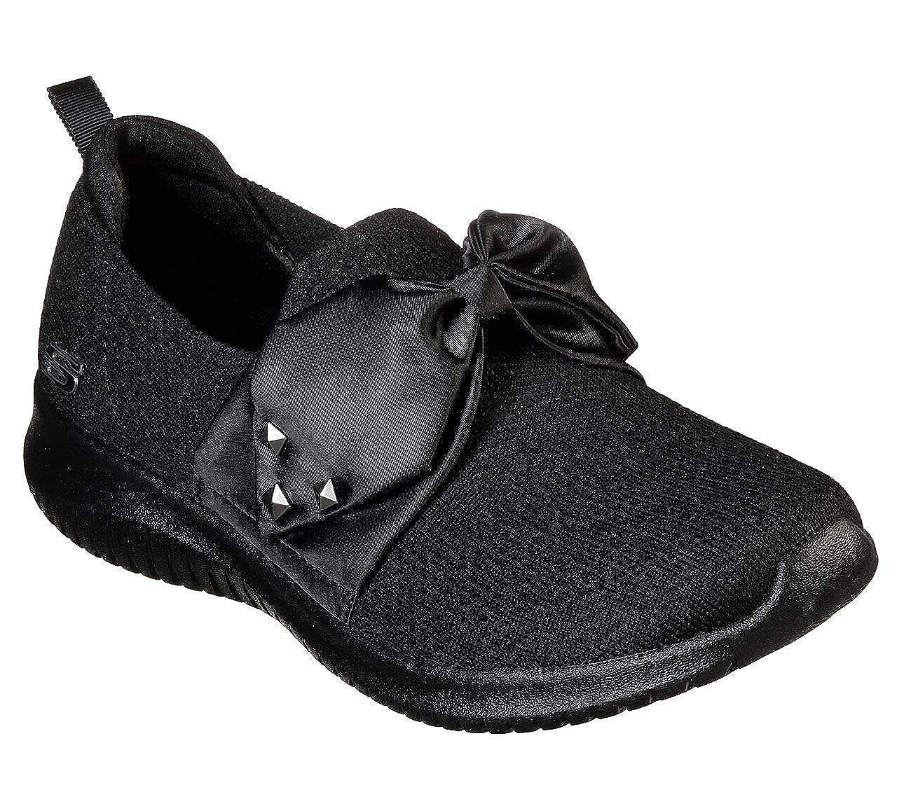 6a87948da5 Amazon.com | Skechers Ultra Flex Satin Night Womens Slip On Sneakers |  Walking