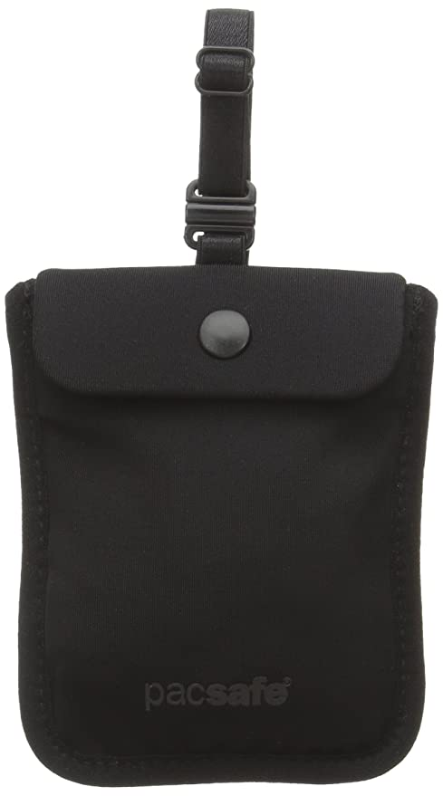 Pacsafe Coversafe S25 Hidden Undercover Travel Pouch for Women (Washable)  -Stash up to 5f0a4d9ddf962