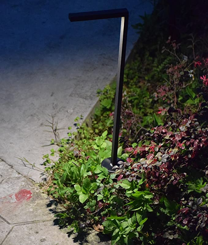Amazon.com : Modern Outdoor Lighting - Low Profile Pathway Light - Accent Light for Walkways, Driveways, Patios - Low Voltage Landscape Integrated 12V 3W ...