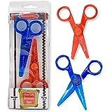 Melissa & Doug Child-Safe Scissors - Child-Friendly Scissors, Lefty and Righty, Set of 2