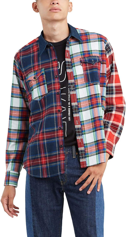 Camisa Levis Barstow Western Multicheck Hombre XXL: Amazon.es: Ropa y accesorios