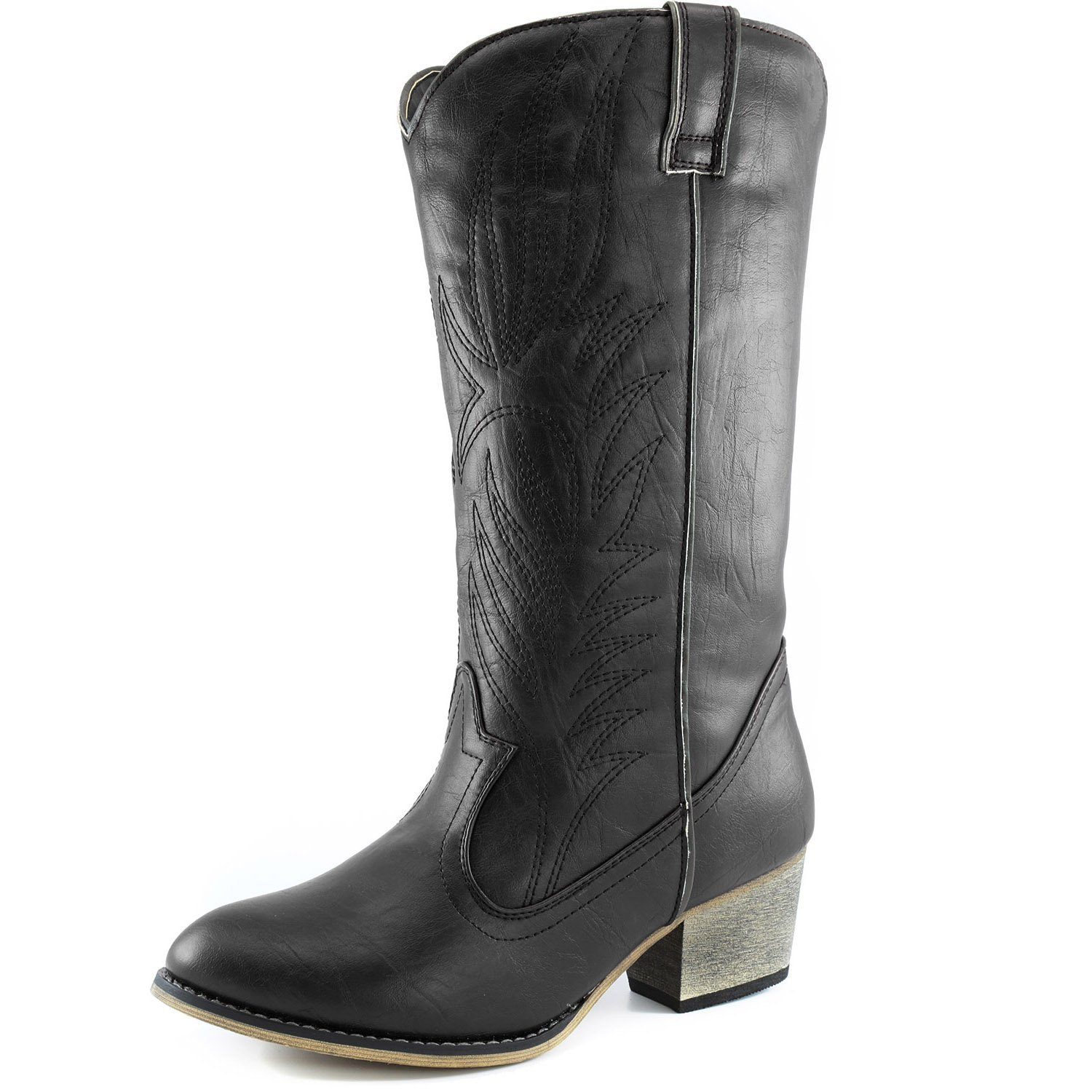 f754450cf42 A TRUE WESTERN CLASSIC GO WEST FASHIONISTA!--The DailyShoes Classic Women s  Cowboy Boots are inspired by traditional cowboy boot designs giving them a  look ...