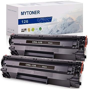 Cartucho de tóner Compatible MYTONER de Repuesto para Canon 126 ...