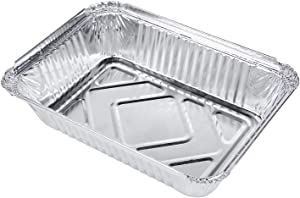 Othmro Toaster Oven Pans 950ml 66PCS,Disposable Aluminum Foil Pan for Roasting, Baking, or Cooking