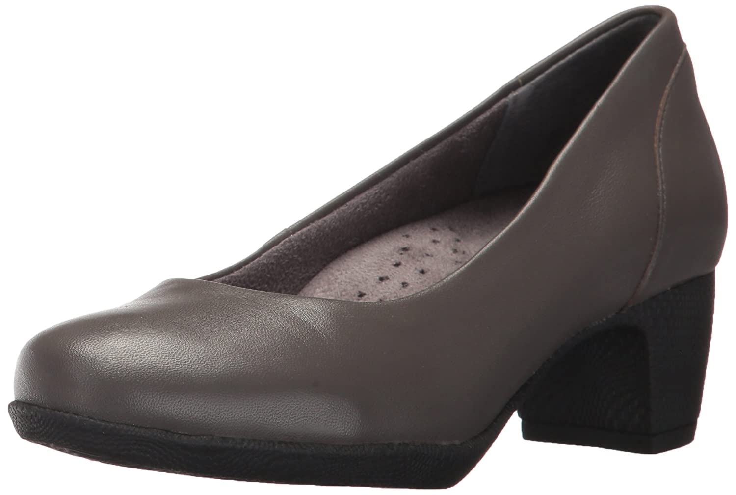 SoftWalk Women's Imperial Ii Dress Pump B01N2WBCG4 12 B(M) US|Dark Grey