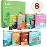 Lictin Libros Blandos para Bebé-Libros de Tela para Bebé Impermeable sobre Aprendizaje y Educativo para Bebé Recién…