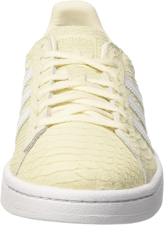 sneakers di tacco Adidas colore bianco senza rigata suola