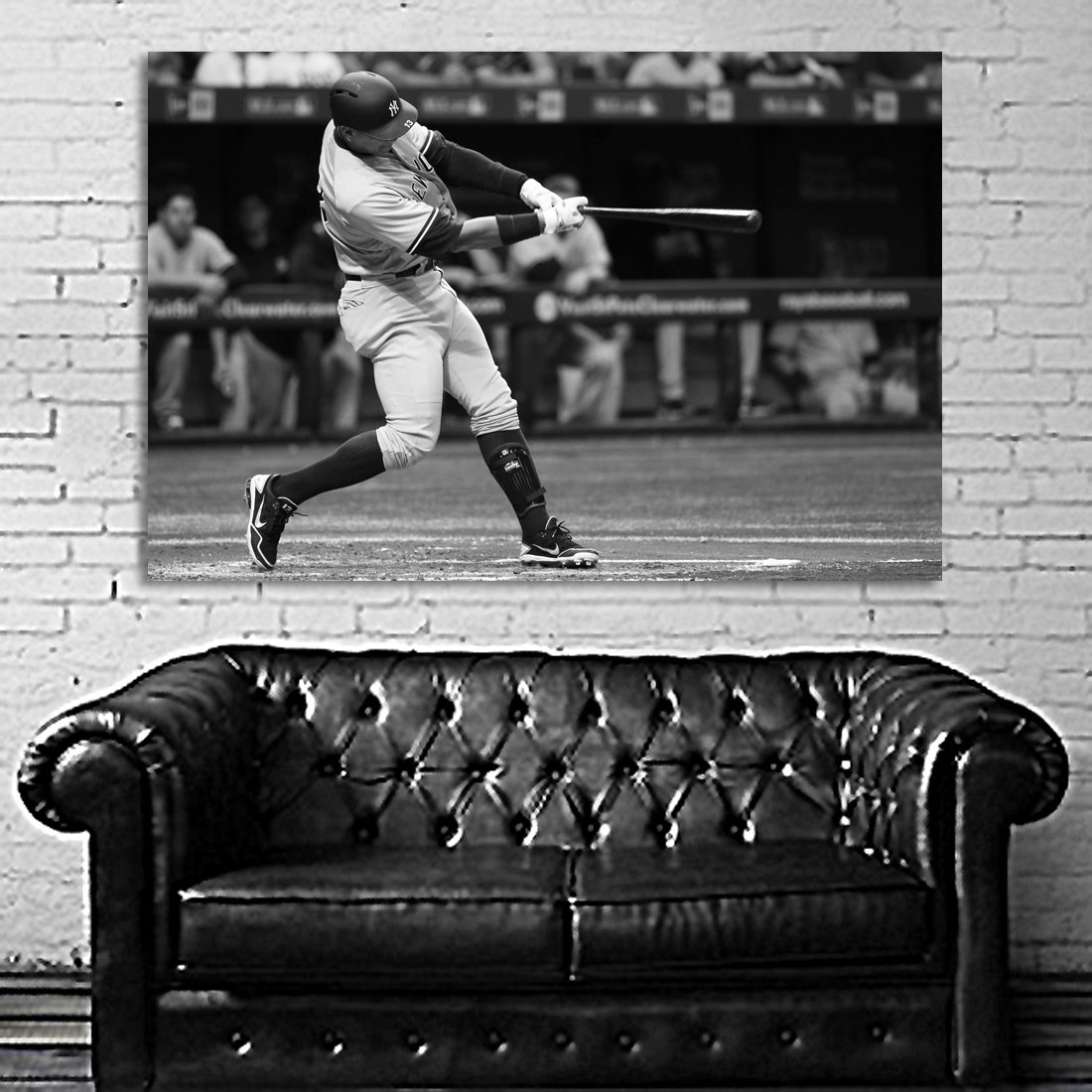 Poster Mural A Rod Yankee Alex Rodriguez 40x60 inch (100x150 cm) on Adhesive Vinyl