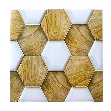 3D Impermeable Papel Pintado Azulejo Adhesivo Cocina Decorativo ...