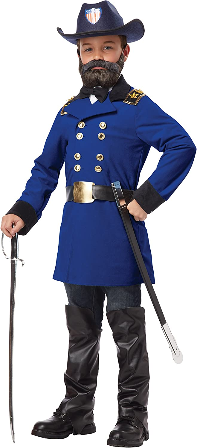California Costumes Union General Ulysses S. Grant Boy Costume, One Color, Medium