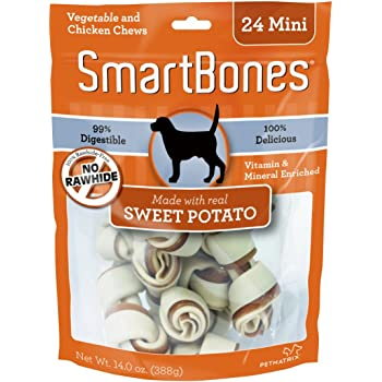 Amazon.com : SmartBones Rawhide-Free Dog Bones, Made With