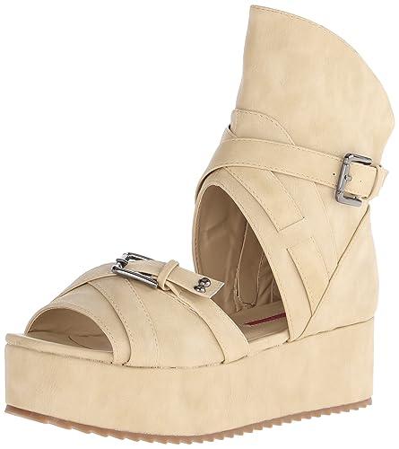 C Label Women's Mollini 25 Platform Sandal,Nude,7 ...